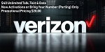 Verizon Prepaid New Activation or Port in