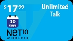 Net10 30 Days Unlimited Talk (Home Phone)