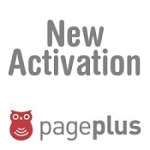 Page plus cellular activation