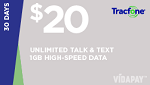 Tracfone $20 Unlimited