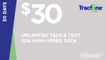 Tracfone $30 Unlimited